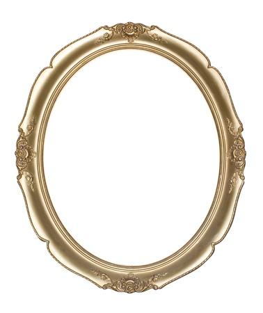 owalne: Oval ramka clipping path Zdjęcie Seryjne