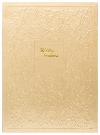 Wedding invitation card photo