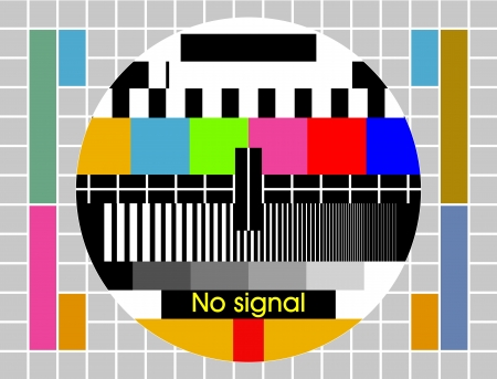 Fond d'�cran de test tv