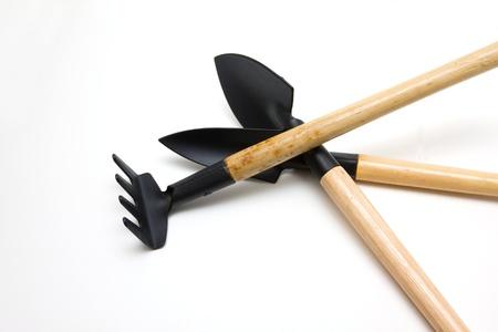 paisajismo: Las herramientas de jardiner�a Foto de archivo