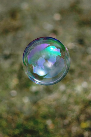 Soap bubble photo