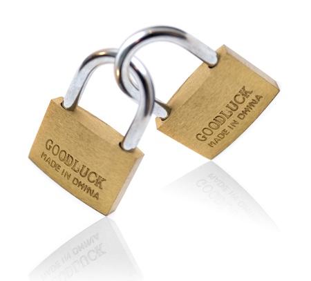 goodluck: Lucky padlock
