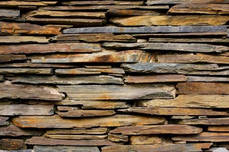 slate texture: Slate Stone wall  texture