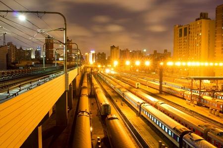 Night Train in Shanghai photo
