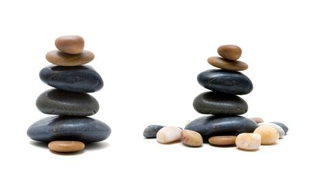 Zen-like stones Stock Photo