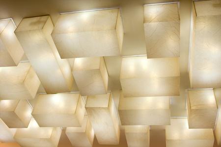Plafond Lampes Banque d'images
