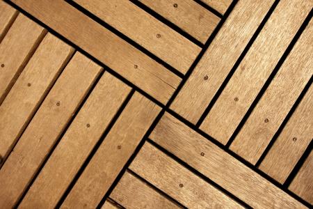 wood deck: Wood floor