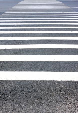 cross road: Zebra crossing