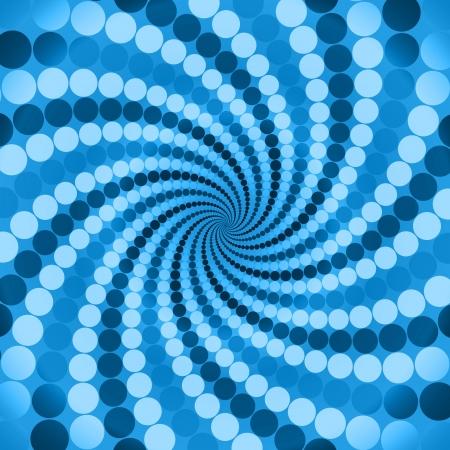 radiancy: cyclic optical illusion Stock Photo