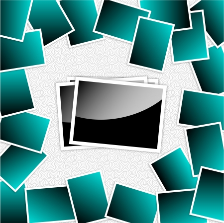 Photo frame set  Vector