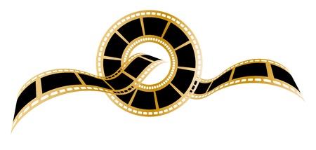 Concept de symbole de bande de film