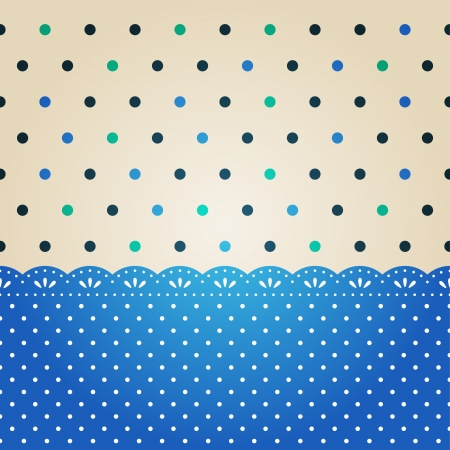 polka dot background Stock Vector - 14766242