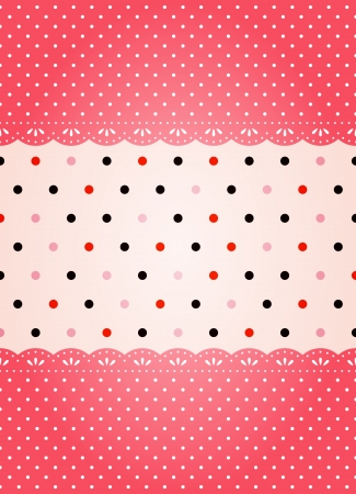 polka dot background Vector