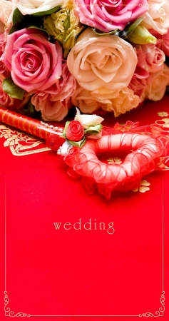 Wedding card  Stock Photo - 15000245