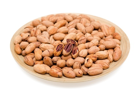hickory nuts: Pecans