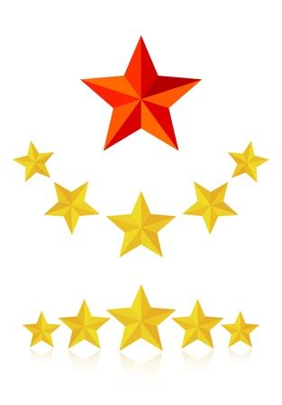 Five star service  Vector