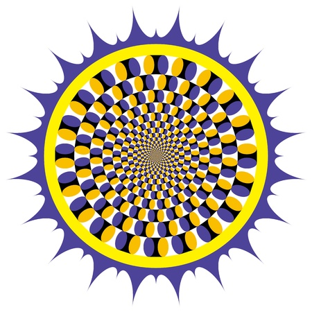 hypnosis: Optical illusion Spin Cycle