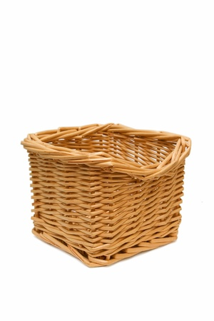 willow fruit basket: Wicker basket