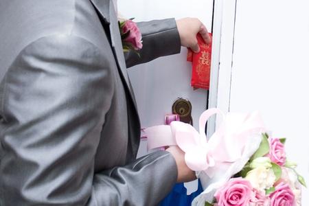 wedding customs: Chinese Wedding Customs Stock Photo