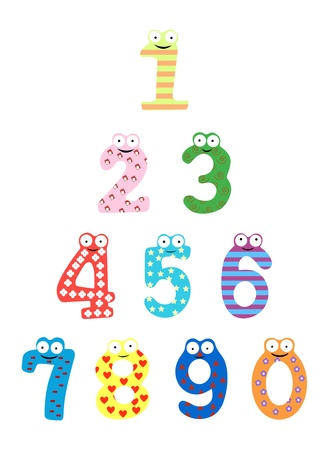 Funny number Stock Vector - 15707446
