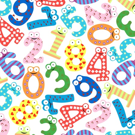 Funny number-Vector Stock Vector - 15850381