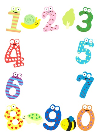 Funny number -vector Stock Vector - 15911543