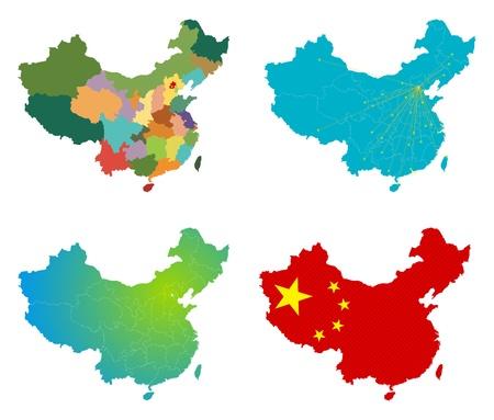 China map set