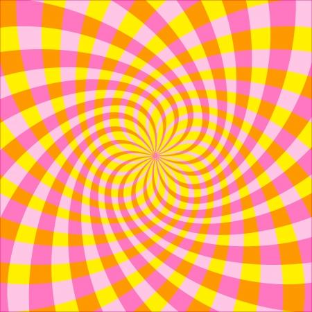 Cyclic optical illusion Vector