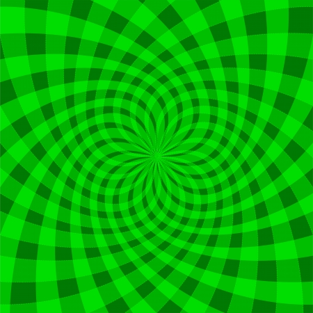Cyclic optical illusion Vector