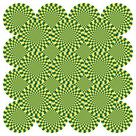 kaleidoscope: Optical illusion Spin Cycle