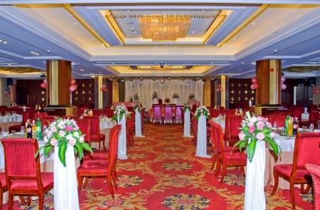 restaurant dining: Wedding Banquet