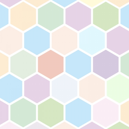 hexahedral: Hexagon background