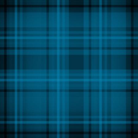 stitched: Blue plaid fabric pattern background