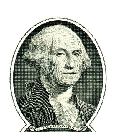 presidents': George Washington on one dollar