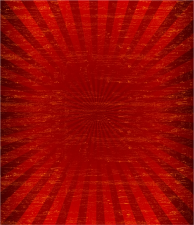 Grunge sunburst pattren background -Vector Vector