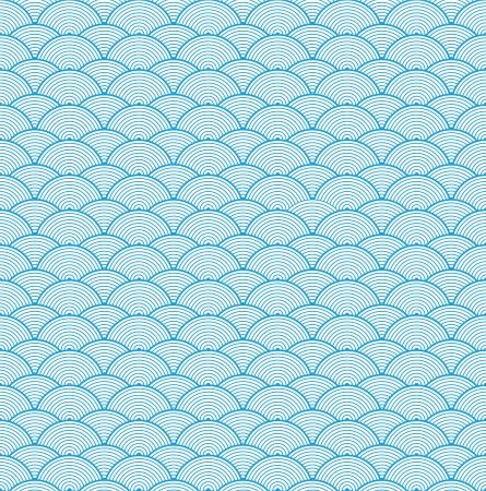 벡터 중국 구름 패턴 배경