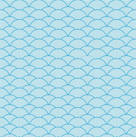 Vector Chinese cloud pattern background Çizim