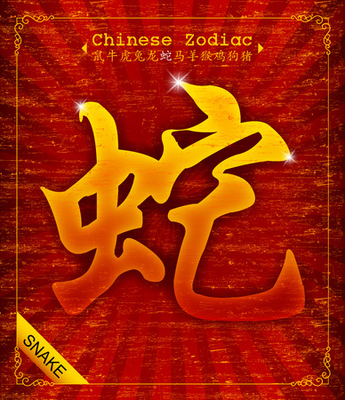 snake year: Chinese Zodiac - Year of the Snake