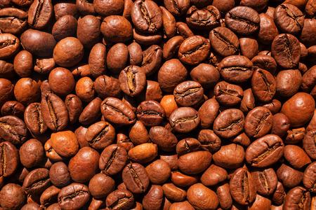 jamoke: Coffee beans background Stock Photo
