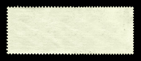 Blank postage stamp background photo