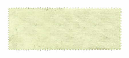post stamp: Blank postage stamp background textured isolated on white