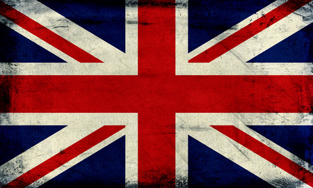 Vintage United Kingdom Flag Background Stock Photo Picture And
