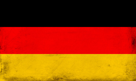 Vintage national flag of Germany background