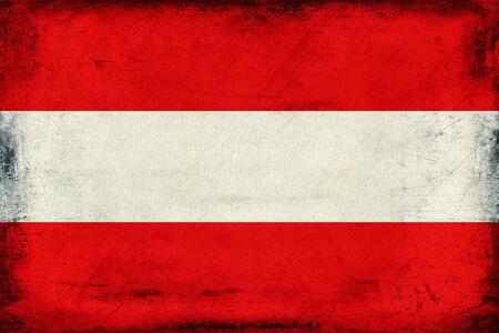 Vintage national flag of Austria background