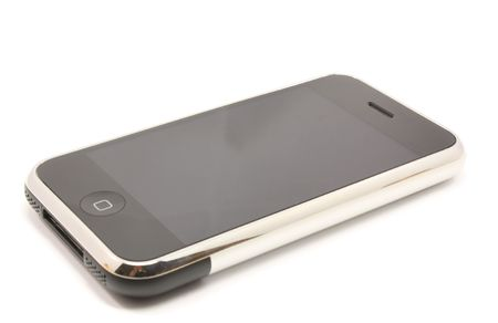 i pad: Modern touch screen popular phone mobile device for communication, music, internet and more