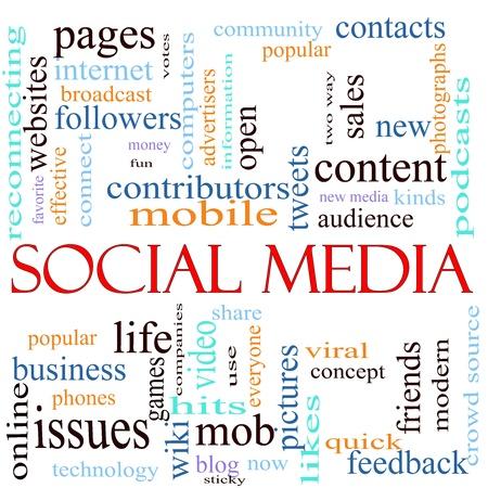 이러한 웹 사이트, 참여자, 모바일, 트위터, 페이지, 커뮤니티, 좋아, 블로그, 종류, 피드백, 친구와 더 많은 등 다른 용어의 많은 단어 소셜 미디어의 주 스톡 콘텐츠