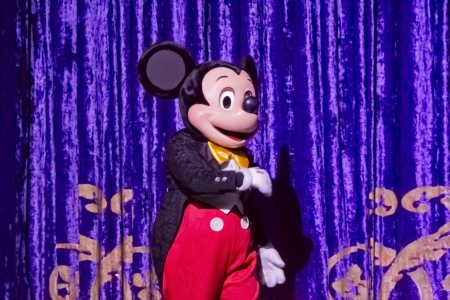 GREEN BAY, WI - FEBRUARY 10:  Mickey Mouse in a tux at the Disney Princesses show at the Resch Center on February 10, 2012 in Green Bay, Wisconsin.
