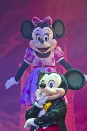 GREEN BAY, WI - FEBRUARY 10:  Mickey and Minnie Mouse it the Disney Princesses show at the Resch Center on February 10, 2012 in Green Bay, Wisconsin. Editorial