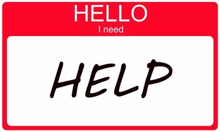 Hallo Ik heb hulp nodig geschreven op een rode naamplaatje maken van een geweldig concept