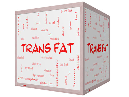 unsaturated: Trans Fat Word Cloud Concept on a 3D Cube Whiteboard with great terms such as grams, diet, unsaturated and more.